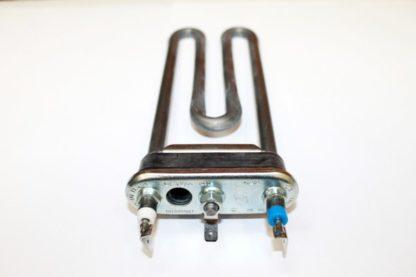 ТЭН 1,9 кВт L=18,5 см с отверстием под датчик температуры. Уплот-ль с буртом.
