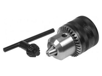Патрон для дрели с зажиманием сверла (d-10,1/2) с ключом