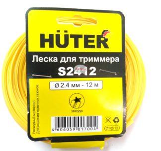 Леска для триммеров HUTER S2412