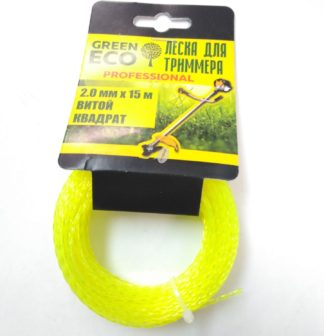 Леска для триммеров GREEN ECO 2.0мм 15м