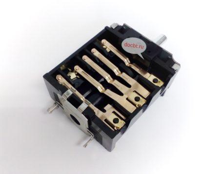 Переключатель духовки 3 позиц. для плиты De Luxe ПМЭ16/220-3