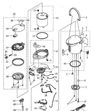 Запчасти для чайников, кулеров и термопотов
